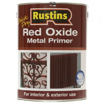 Image for Rustins Quick Dry Red Oxide Metal Primer 250ml