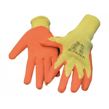 Image for Vitrex Builders Grip Gloves Yellow/Orange