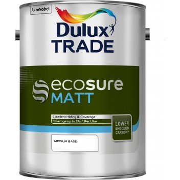 Image for Dulux Trade Ecosure Matt Colour Medium 5Lt