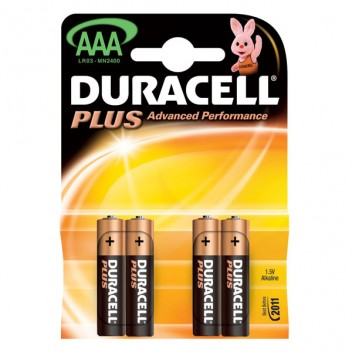 Image for Duracell Aaa Batteries 4 Pack
