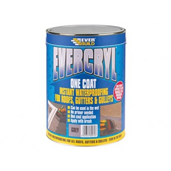 Image for Everbuild Evercryl One Coat Black 5kg