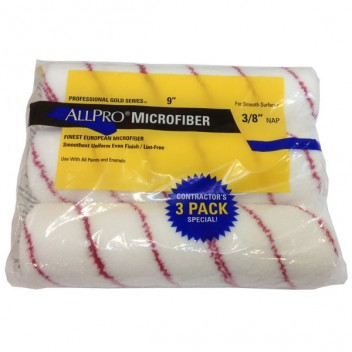 "Image for Allpro Microfiber 9""x 3/8"" Trade Pack"