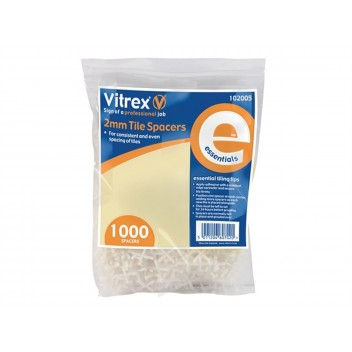Image for Vitrex Essential Spacers 2Mm X 500