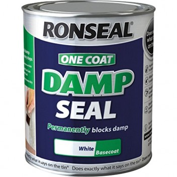 Image for Ronseal One Coat Damp Seal White 750ml