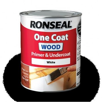 Image for Ronseal O/C Wood P/U/C White 2.5L