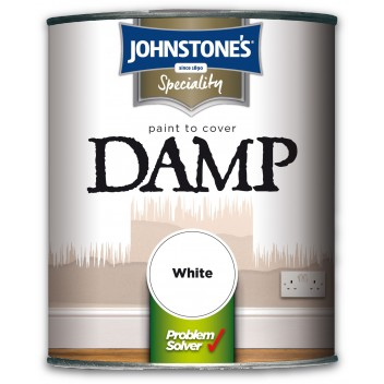 Image for Johnstones Retail Damp Proof White 2.5L