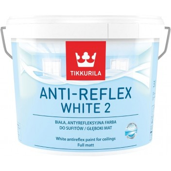Image for Tikkurila Anti-Reflex White 2 10L