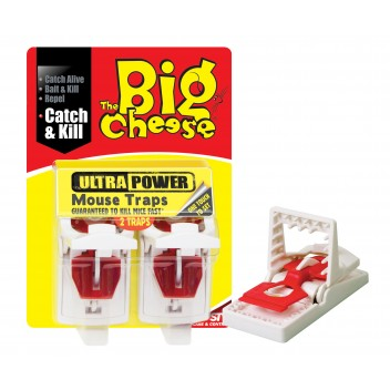 Image for Stv Ultra Power Mouse Traps Twin Pack